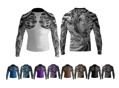 "Raven ""Irezumi 2.0"" Ranked Rash Guard"