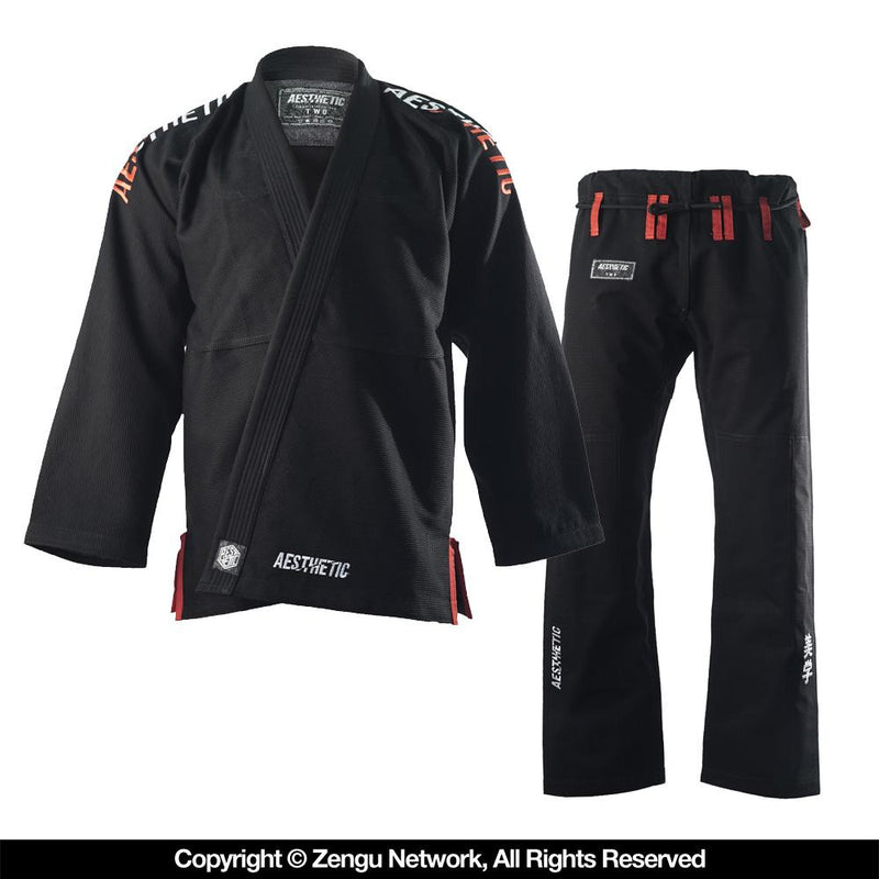 "Aesthetic ""SELECT"" Black BJJ Gi"