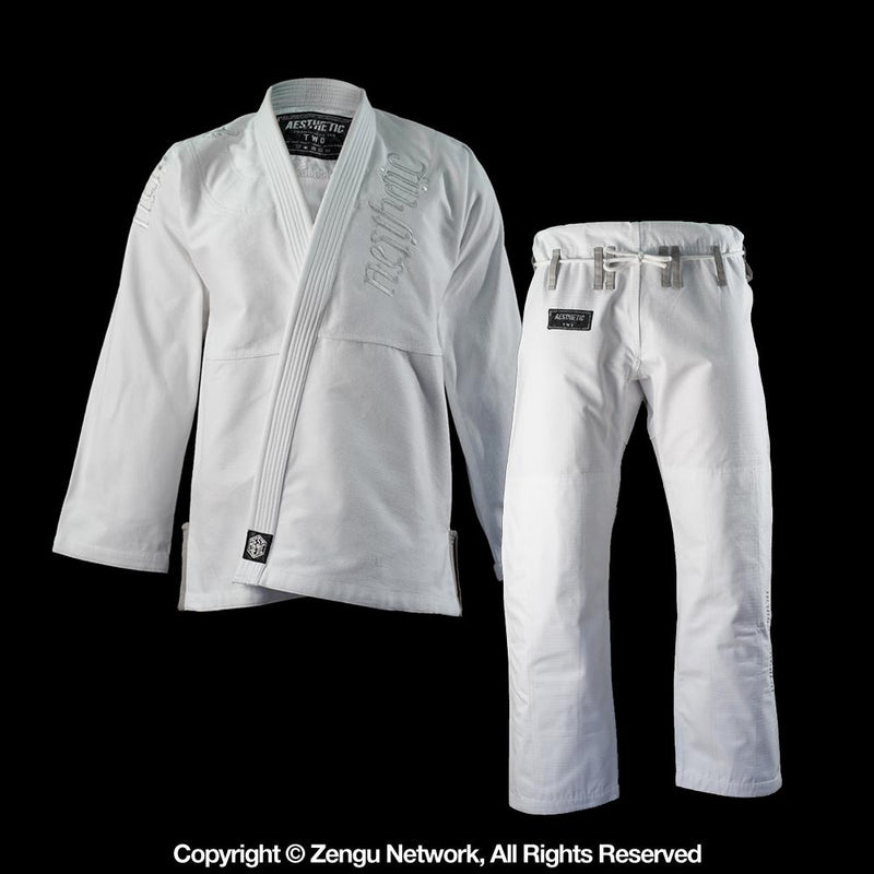 "Aesthetic ""WHITEOUT"" BJJ Gi"