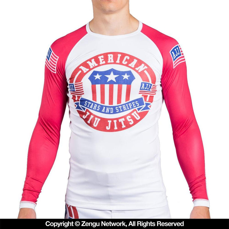 "American Jiu Jitsu ""Badge"" Rash Guard"
