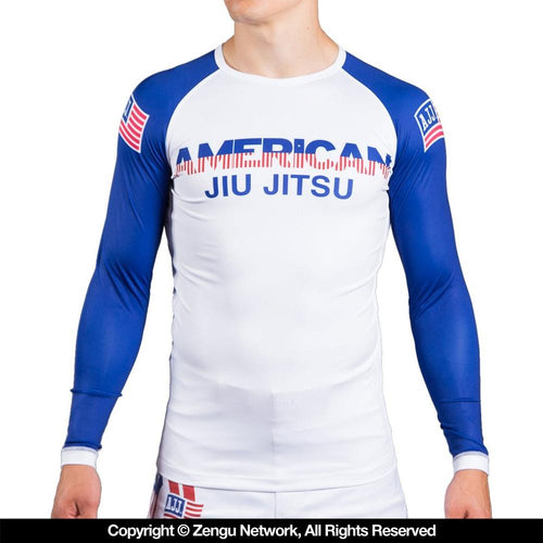 "American Jiu Jitsu ""Country"" Rash Guard"
