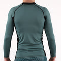 93brand 2019 Standard Issue LS Rash Guards 2-PACK (Sage Green, Slate Grey)