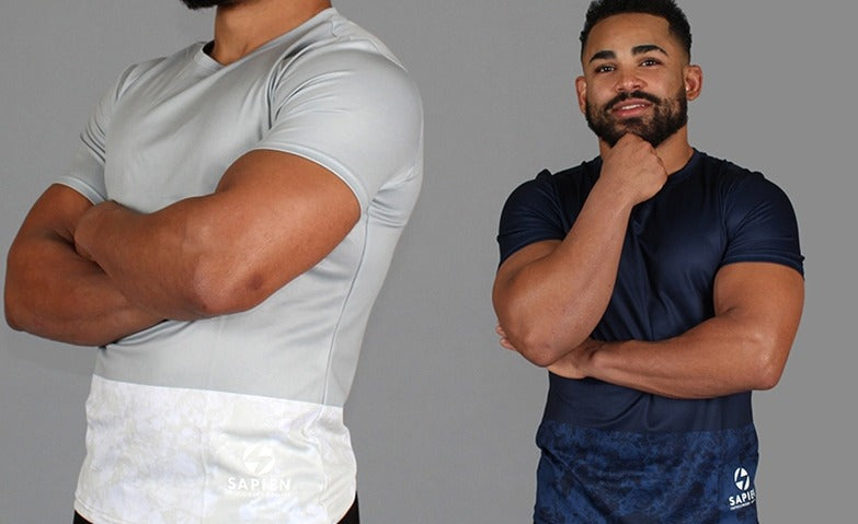 Sapien Dry Fit Shirts 2-PACK