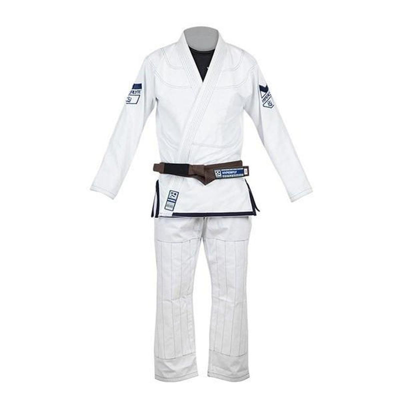 Hyperlyte BJJ Gi - White/Navy