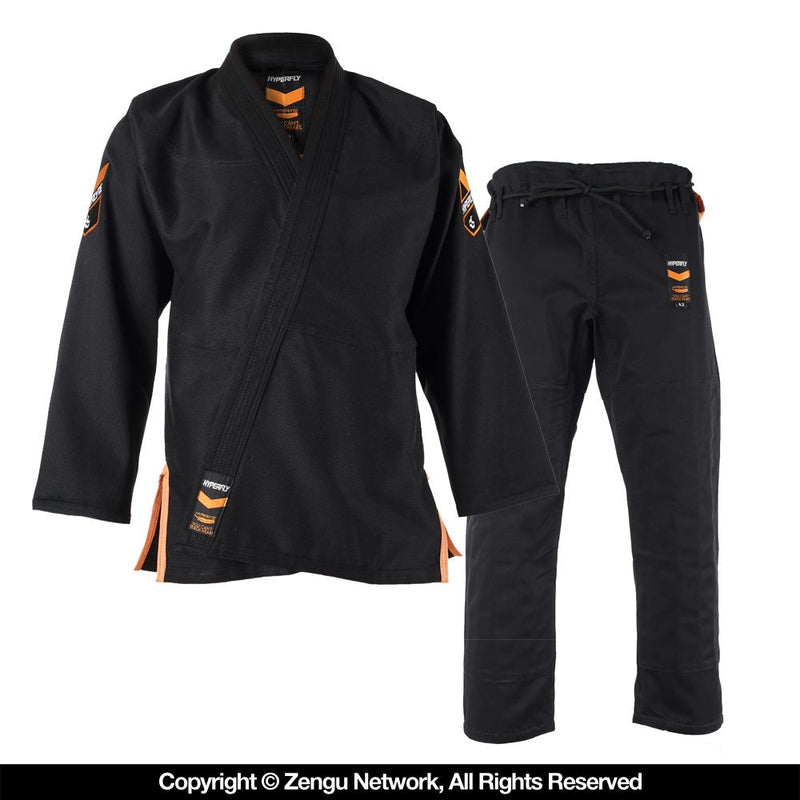 Hyperlyte Black/Orange BJJ Gi