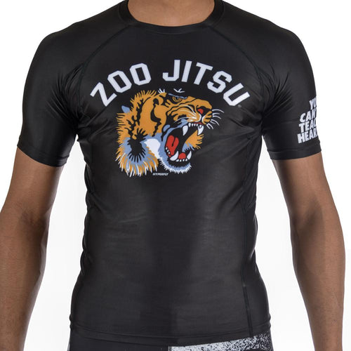 "Hyperfly ""Zoo Jitsu"" Grappling Rash Guard"