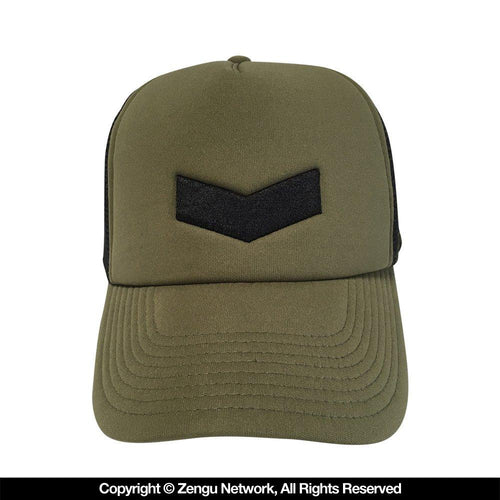 "Hyperfly ""Icon"" Olive Trucker Cap"