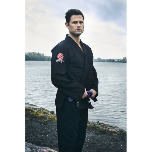 "Flow Kimonos ""Air"" BJJ Gi - Black"