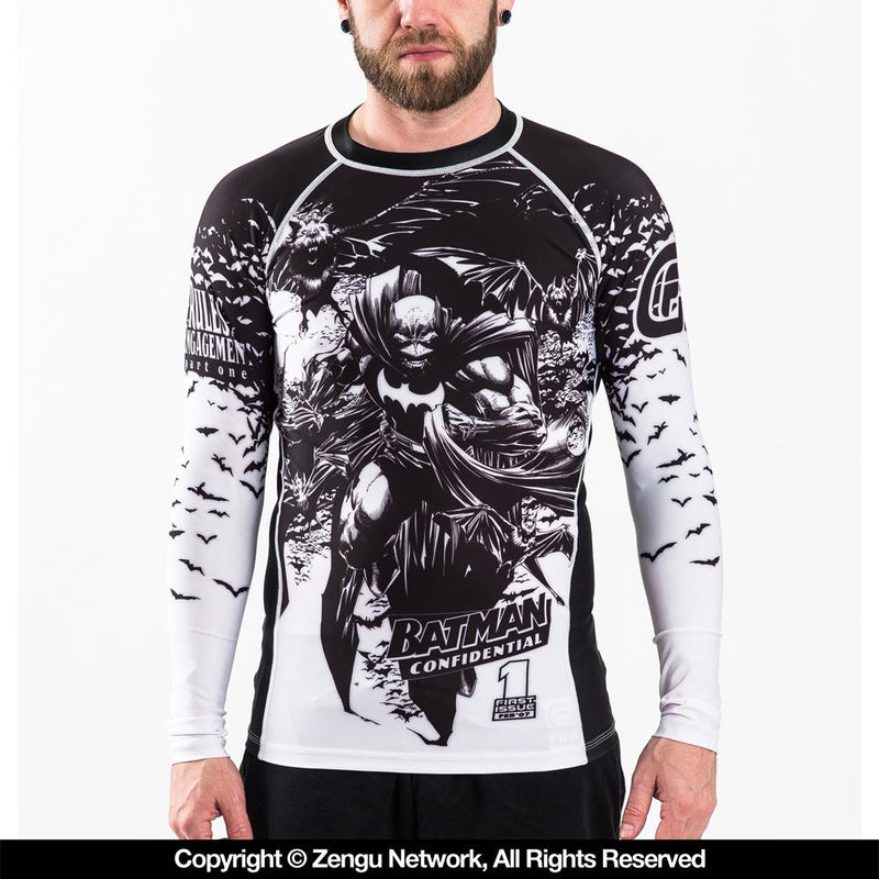 "Fusion Fightgear ""Batman Confidential Noir"" Rash Guard"