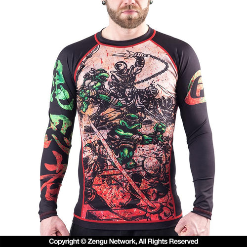 "Fusion FG ""Teenage Mutant Ninja Turtles - Book One"" Rash Guard"