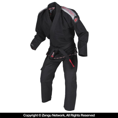 Gameness Air Black Jiu Jitsu Gi