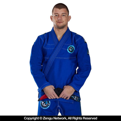 "Ground Game ""Balance 2.0"" BJJ Gi - Blue"