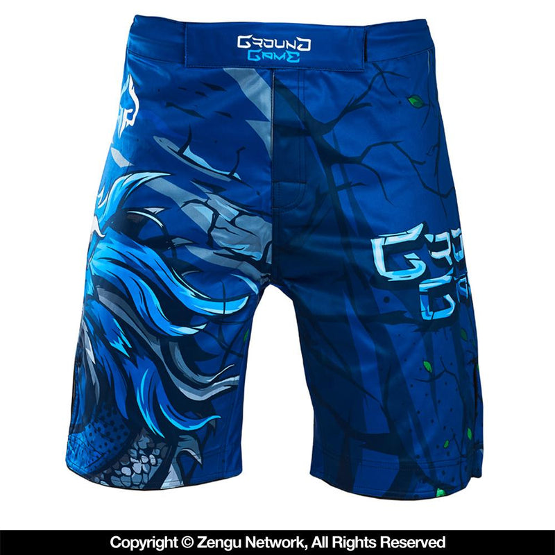 "Ground Game ""Blue Dragon"" Shorts"
