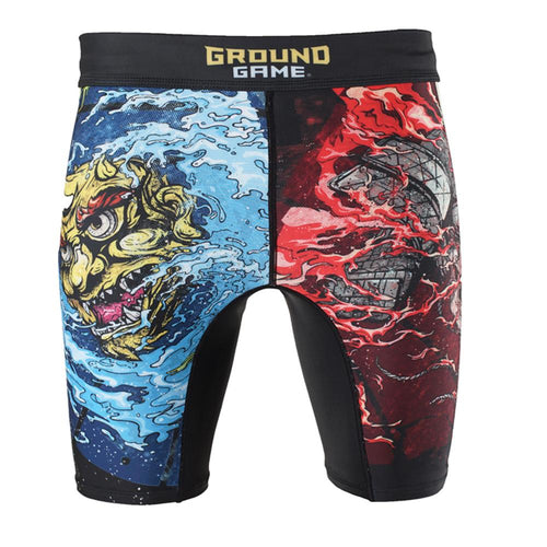 "Ground Game ""Bushido II"" Vale Tudo Shorts"