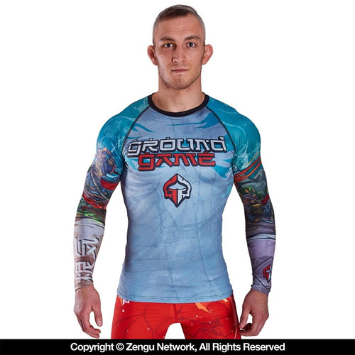 "Ground Game ""Konki"" Rash Guard"