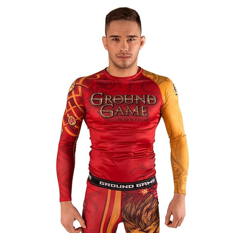 "Ground Game ""Hear Me Crank"" Rash Guard"