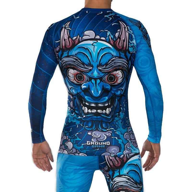 "Ground Game ""Oni"" Rash Guard"