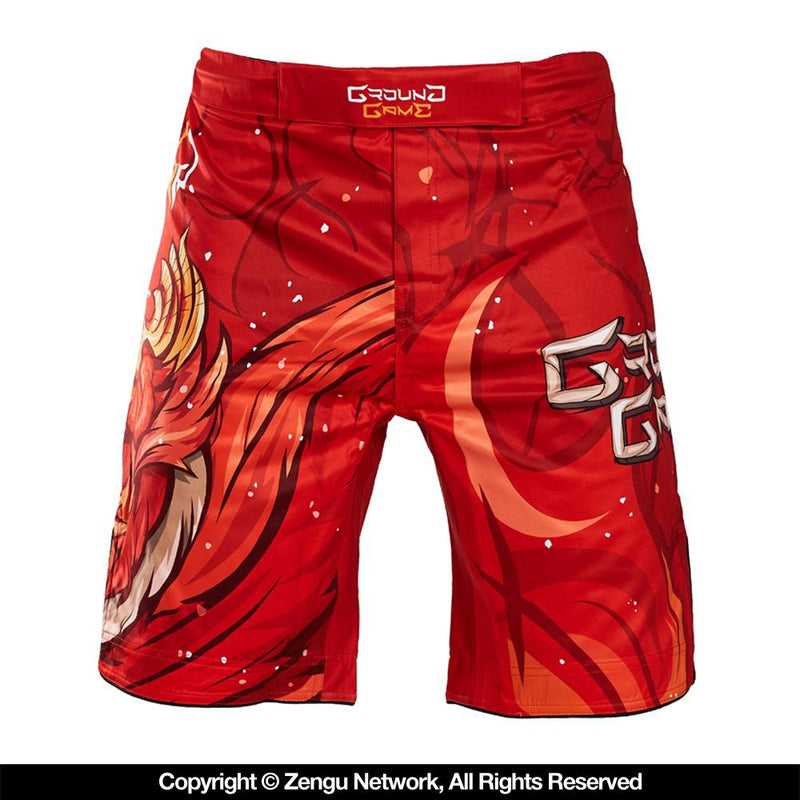 "Ground Game ""Red Bird"" Shorts"