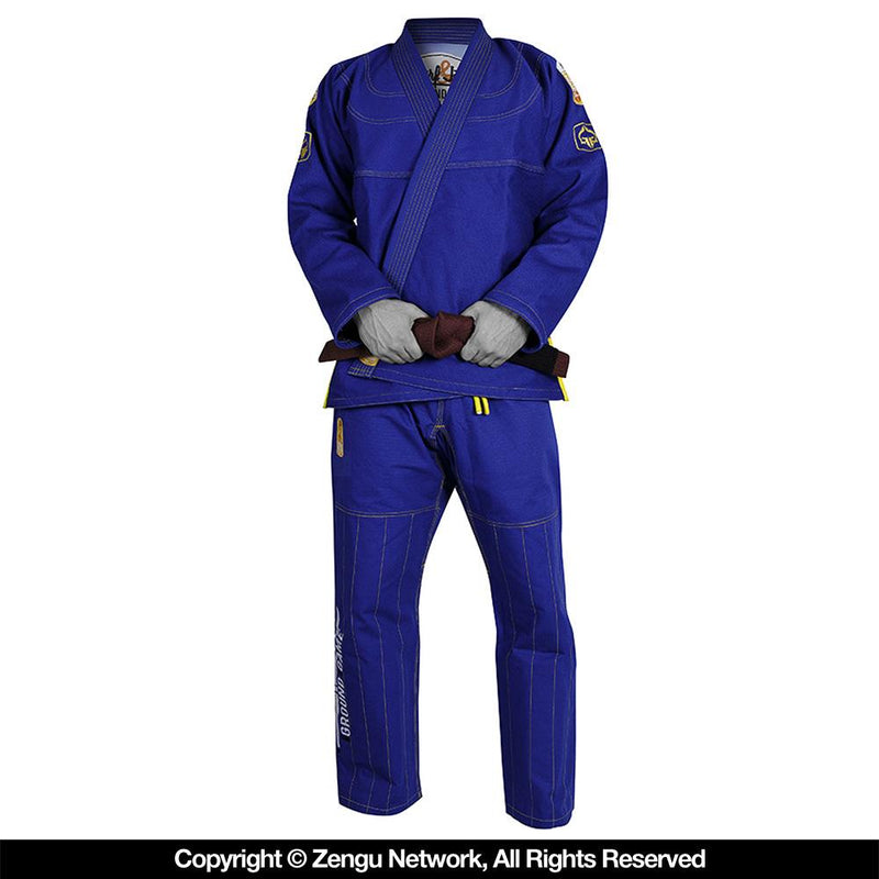 "Ground Game Blue ""Surf Jitsu"" Gi"