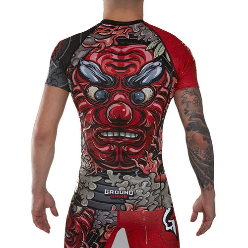 "Ground Game ""Tengu"" Rash Guard"