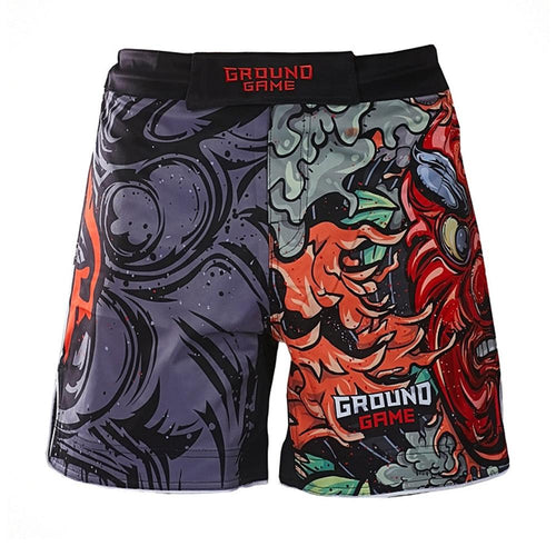 "Ground Game ""Tengu"" Fight Shorts"