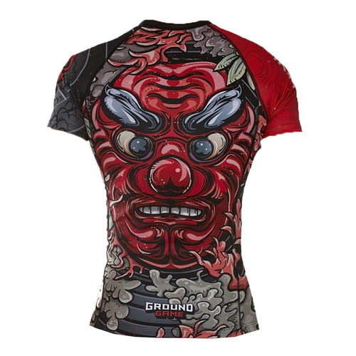 "Ground Game ""Tengu"" Women's Rash Guard"