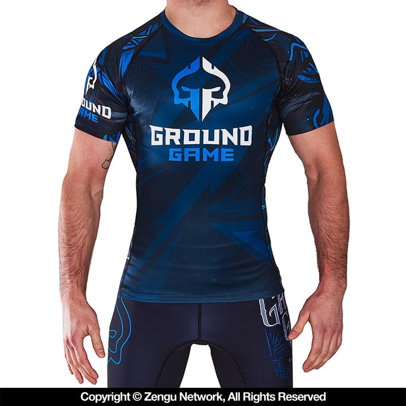 "Ground Game ""Viking"" Rash Guard"