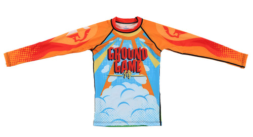 Ground Game Samurai Children's Rashguard
