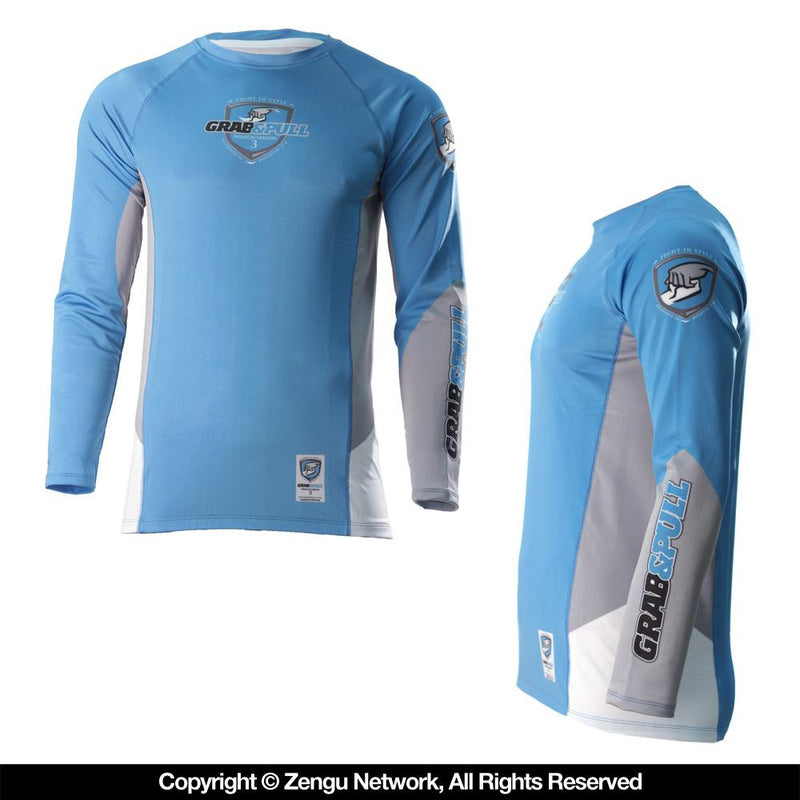 Grab and Pull IBJJF Ranked Rash Guards