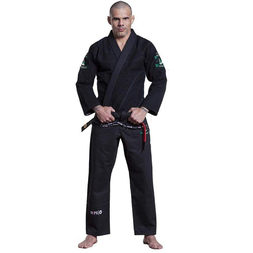 "Grips Athletics ""Arte Suave"" BJJ Gi - Black"
