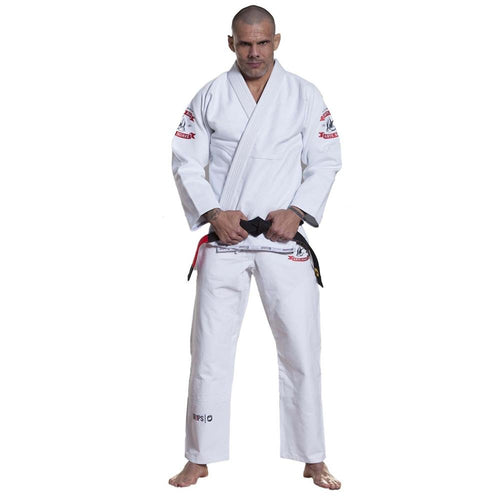 "Grips Athletics ""Arte Suave"" BJJ Gi - White"