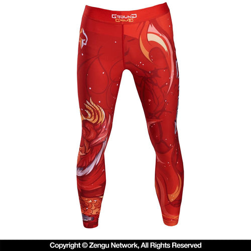 "Ground Game ""Vermilion Bird"" Spats"