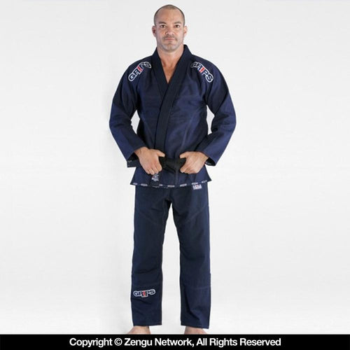 "Grips Athletics ""Secret Weapon 2.0"" BJJ Gi - Navy Blue"