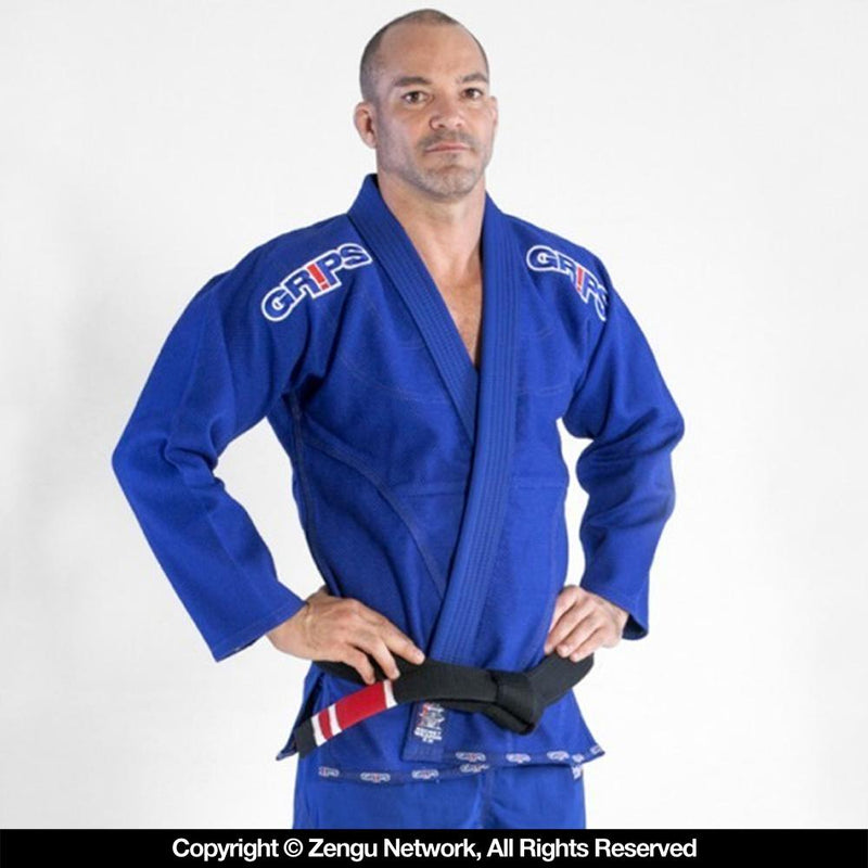 "Grips Athletics ""Secret Weapon 2.0"" BJJ Gi - Blue"