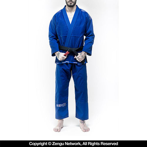 "Grips ""Secret Weapon Evo"" Blue BJJ Gi"