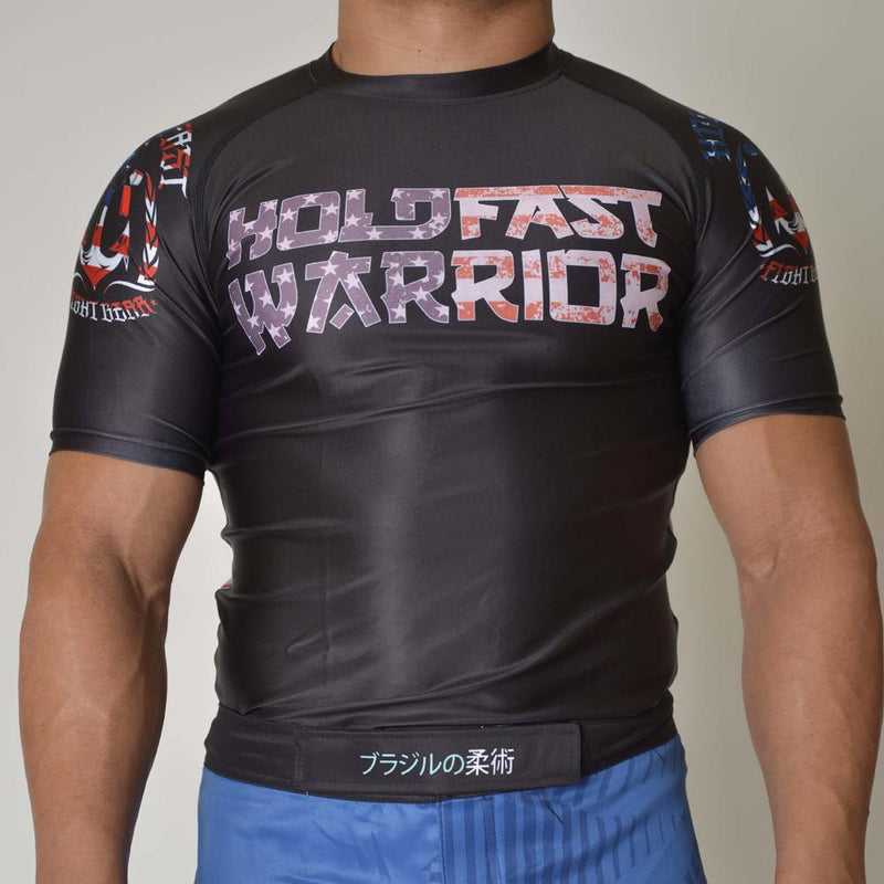 "Hold Fast ""Warrior 2"" Rash Guard"