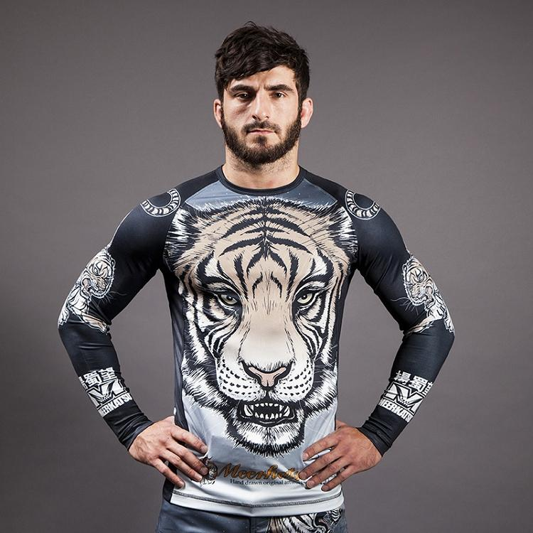 "Meerkatsu ""Midnight Tiger"" Rash Guard"