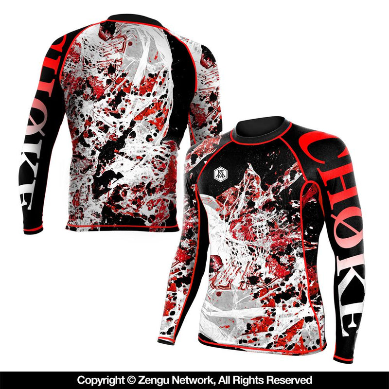 "Newaza Apparel ""Choke"" Rash Guard"
