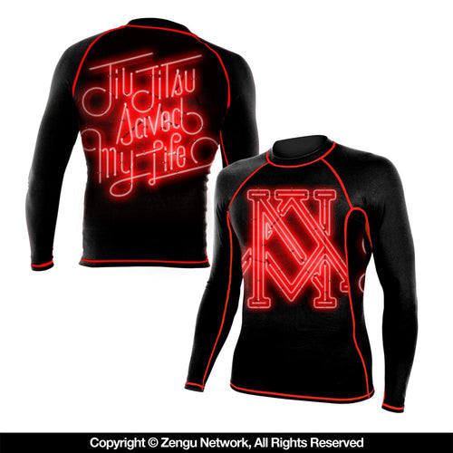 "Newaza Apparel ""Saved My Life"" Rash Guard"