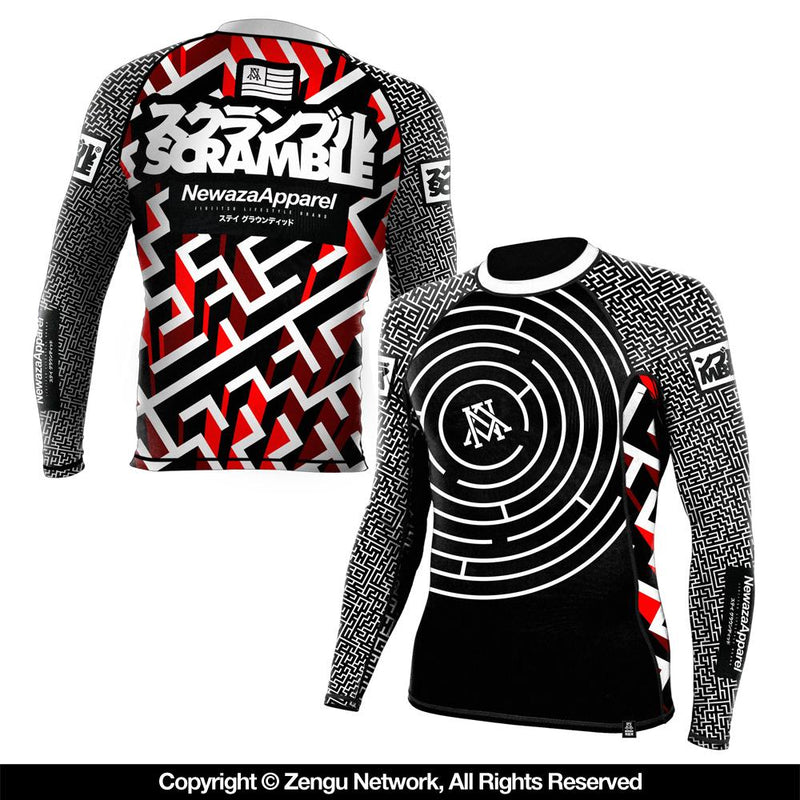 "Newaza Apparel ""Seeker"" Rash Guard"