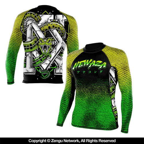 "Newaza ""Anaconda"" Rash Guard"