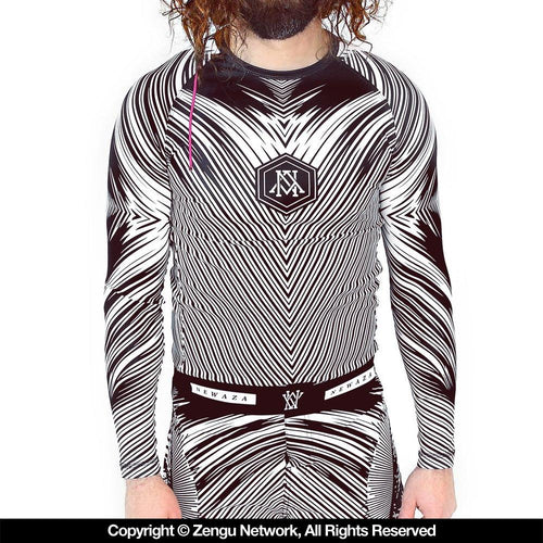 "Newaza ""All Submitting Eye"" Rash Guard"