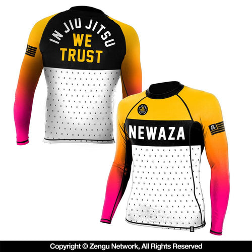 "Newaza ""Trust"" Long-Sleeve Rash Guard"