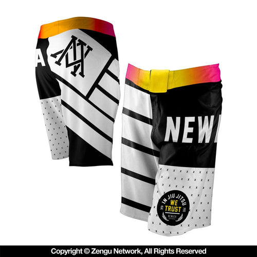 "Newaza ""Trust"" BJJ Shorts"