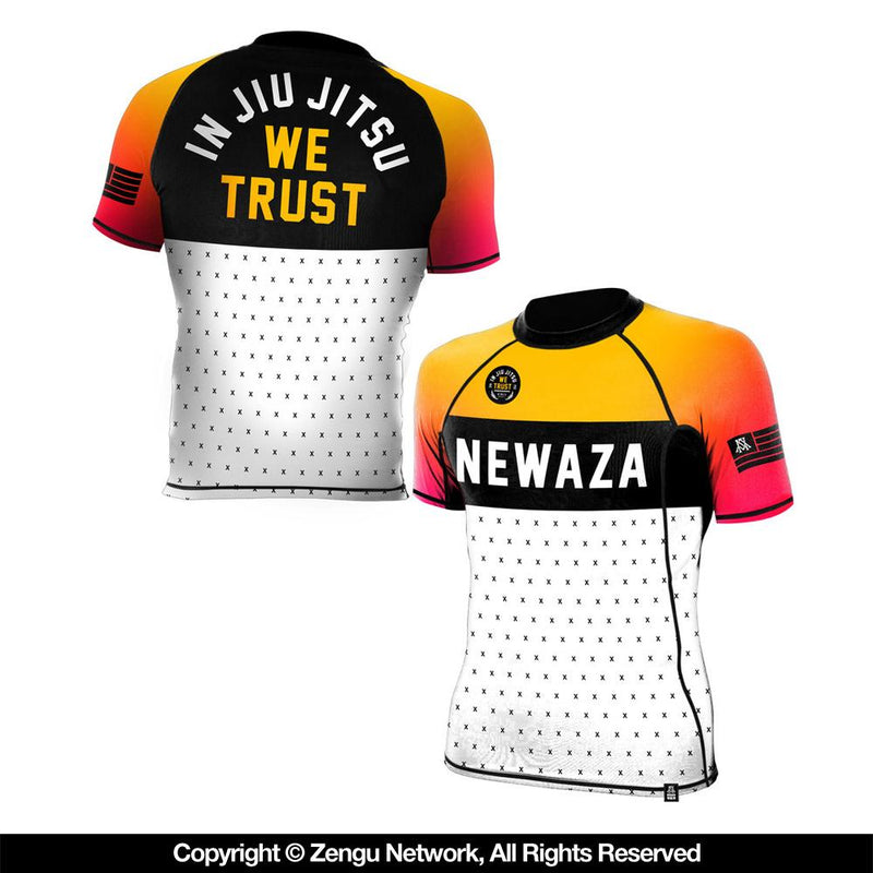 "Newaza ""Trust"" Short-Sleeve Rash Guard"