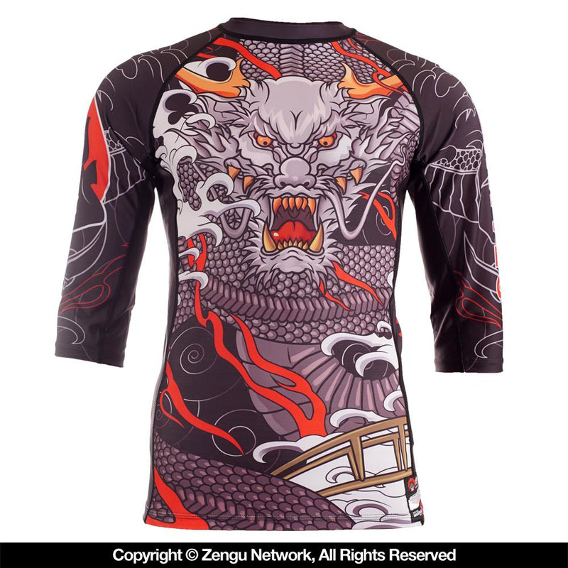 "Ozamurai ""Dragon"" Rash Guard"