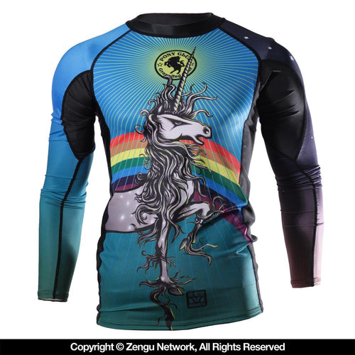 "Meerkatsu x Pony Club Grappling Gear ""The Juliet"" Rash Guard"