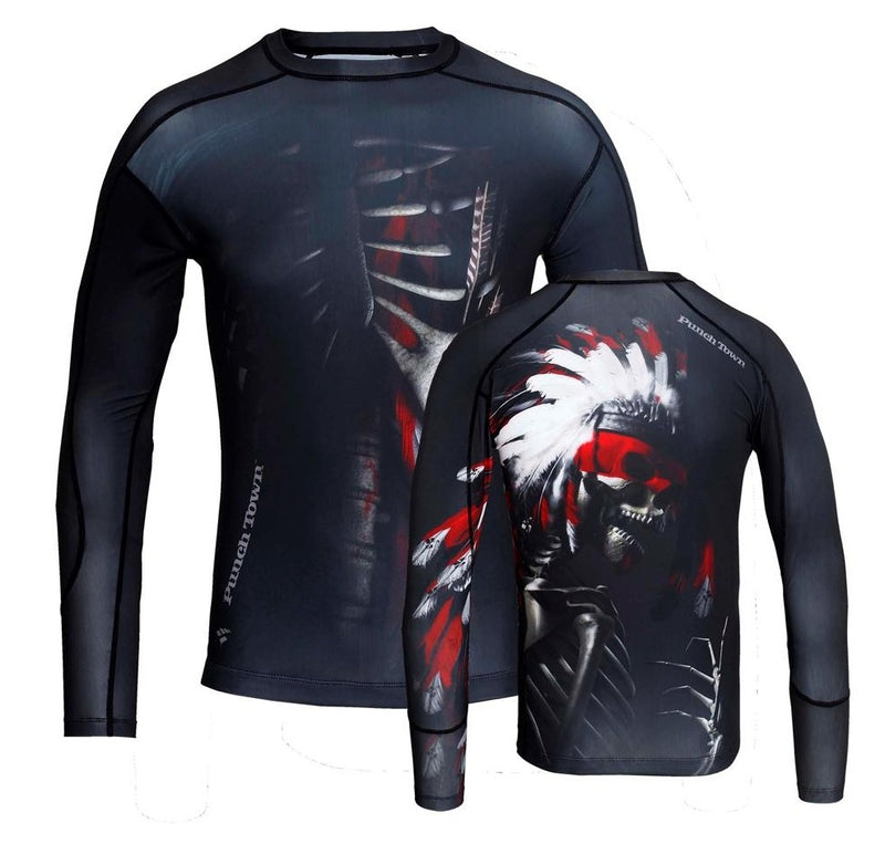 "Punchtown ""The Apache"" Rash guard"