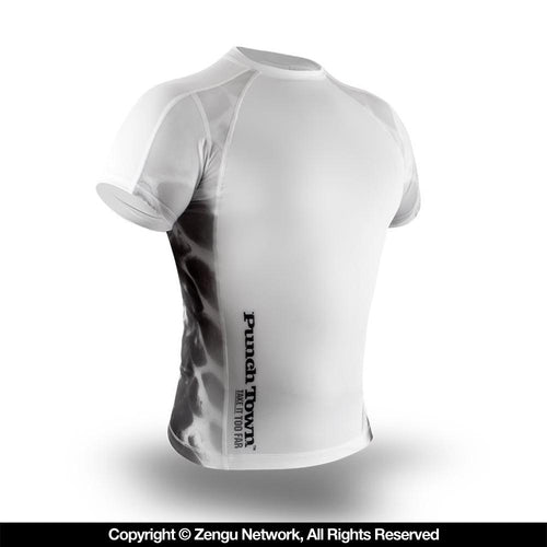 "PunchTown ""Ice Mamba"" Short Sleeve Rash Guard"
