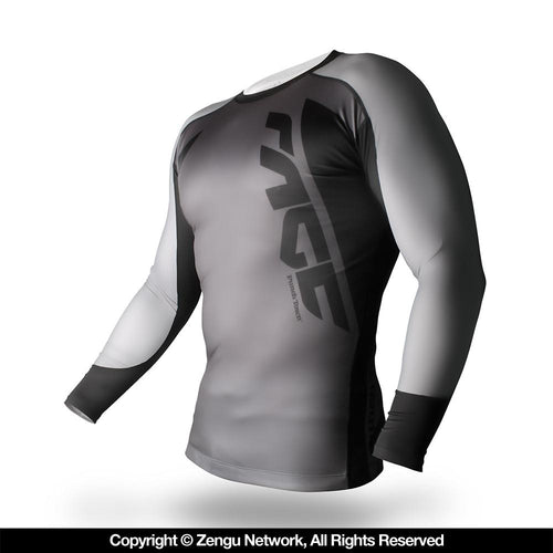 "PunchTown ""Rage"" Rash Guard - Long Sleeve"